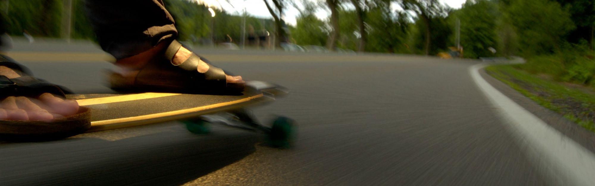 Wie und wo kann man Longboard fahren?