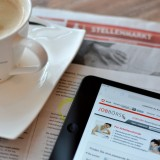 Online-Stellenanzeigen in der Jobbörse