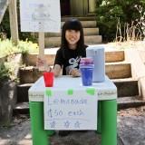 Child Entrepreneur Lemonade Stand 50 Cents Each Qiqi Lourdie June 24, 20111