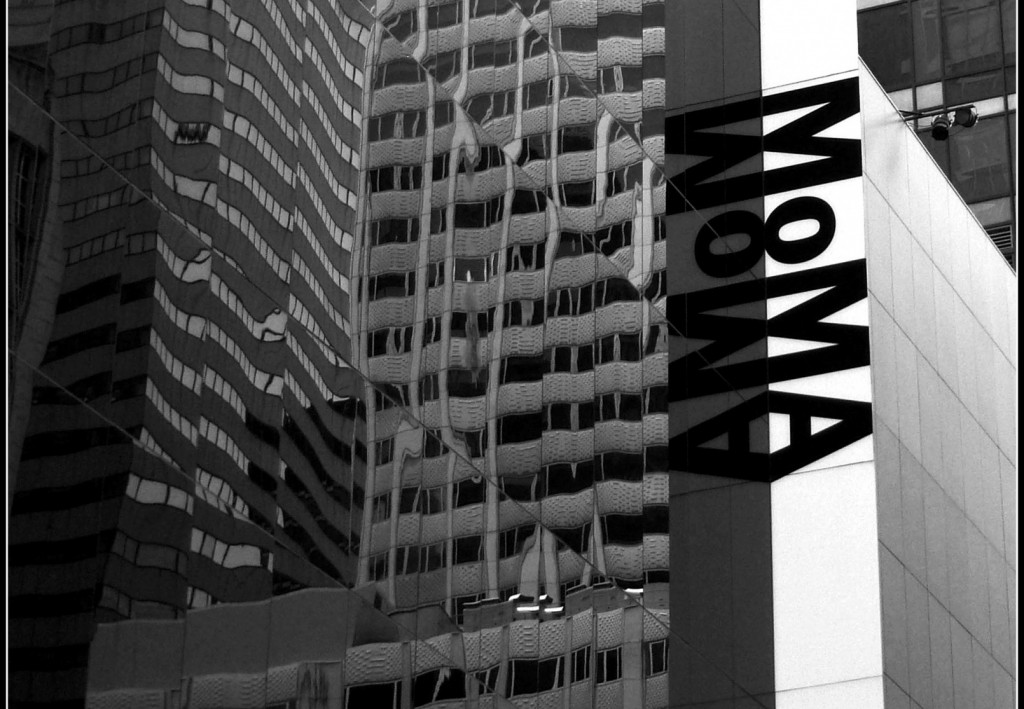 Exterior Reflection, MOMA, New York City