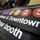 New York City Transit Sign Shop